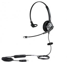 Plusonic Headset 8.1MS monaural, NC, Wideband USB
