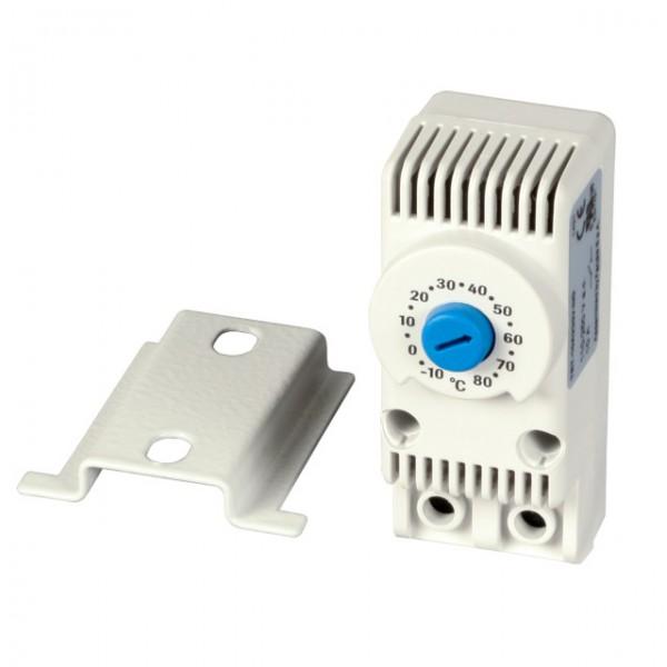 """Wandgehäuse 19"""", zbh. Thermostat für die Lüfter, *ohne Stecker!*"""