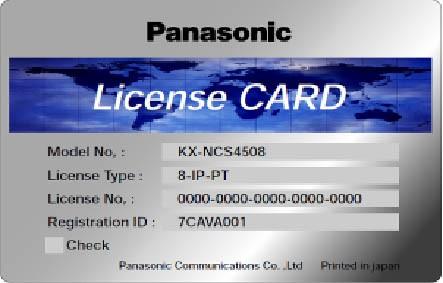 Panasonic KX-NCS 3701WJ 1 Standard SIP-Telefon