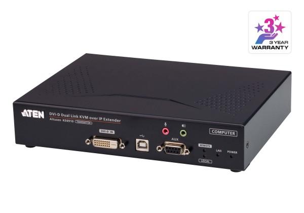 Aten KVM-Extender, over IP, (nur Transmitter), DVI-D,