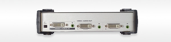 Aten Video Splitter,DVI/Audio, 1xInput,2xOutput