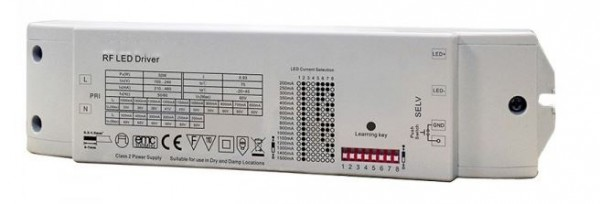 Synergy 21 LED Controller EOS 05 1-Kanal single color Controller+Netzteil CC 200-1500mA 50W