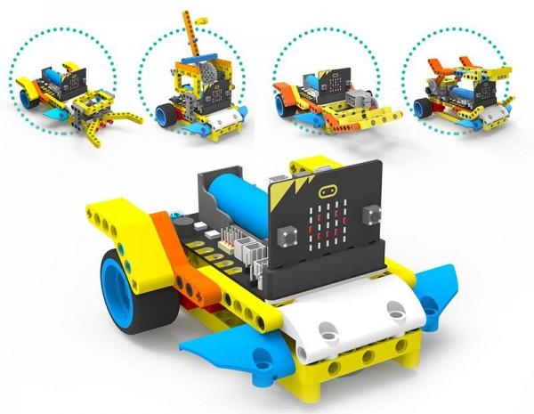 Yahboom running:bit Building Block Pack für micro:bit (inklusive micro:bit Board)
