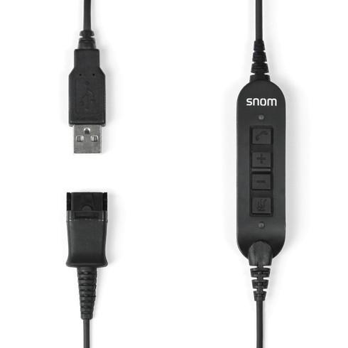 SNOM Headset ACUSB USB-Adapterkabel für A100M / A100D