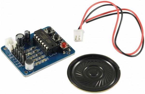 ALLNET 4duino Aufnahmemodul Sprache mit Mikrofon/Lautsprecher