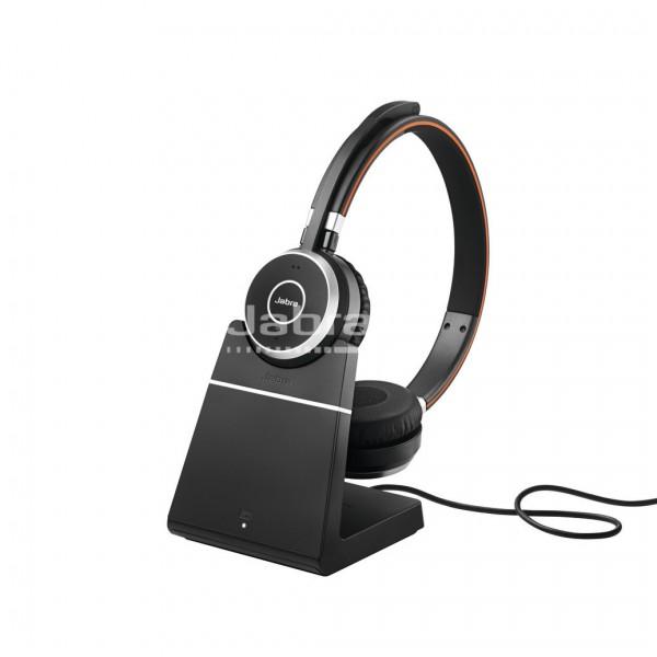Jabra Evolve 65 Headset Duo USB / Bluetooth mit Ladegerät