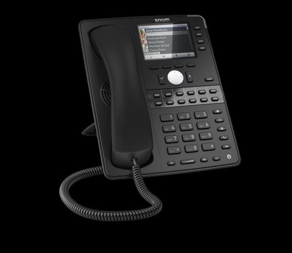 SNOM D765 VOIP Telefon Prof. (SIP), Gigabit o. Netzteil, sc