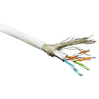 Kabel 100MHz, CAT5E, S-FTP(SF/UTP), Patch, Hal, 100m Ring,