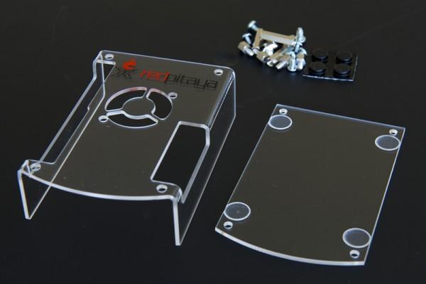 RP Casing / Passgenaues, durchsichtiges Kunststoff-Gehäuse für Red Pitaya Board V1.1
