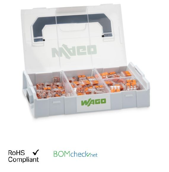 Wago Verbindungsklemmen Set L-BOXX® Mini; Serie 221 - 4mm² + 6mm²