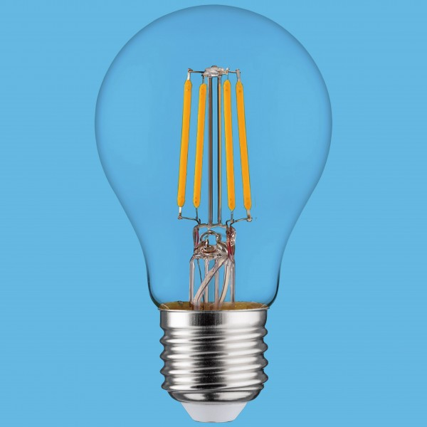 Synergy 21 LED Retrofit E27 A60 Bulb klar 4,5W ww dimmbar