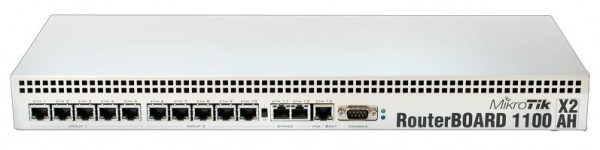 MikroTik RouterBOARD RB1100Dx4, 13x Gigabit, 60GB SSD, Dude Edition