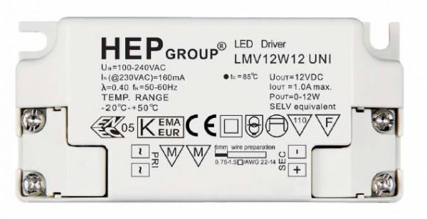 HEP Netzteil - 12V 12W - HEP