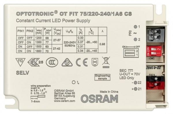 Osram Netzteil - CC Driver 125~550mA, 54~216V dali NFC
