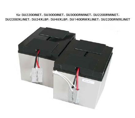 Akku OEM RBC11-BP, f.SU2200INET/3000INET/, Akkus mit Kabel,