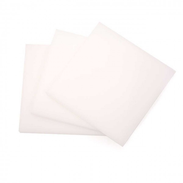 Snapmaker zbh. POM Thermoplastic Polyacetal Sheet Pack (3x 80x80x4mm)