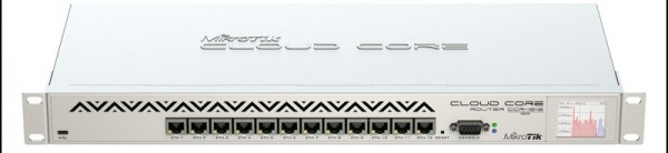 MikroTik Cloud Core Router CCR1016-12G, 12x Gigabit