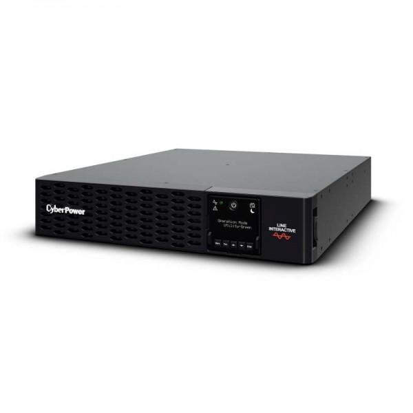 "CyberPower USV, PR Tower/19""-PRIII-Serie, 3000VA/3000W, 2HE, Line-Interactive, reiner Sinus, LCD, USB/RS232,"