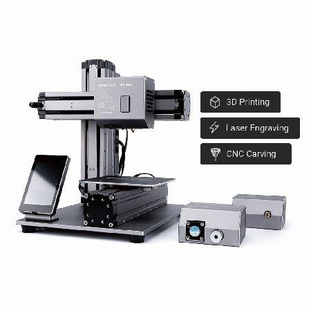 Snapmaker 3-in-1 3D Drucker EU Version, Laser & CNC Fräse inkl. Gehäuse