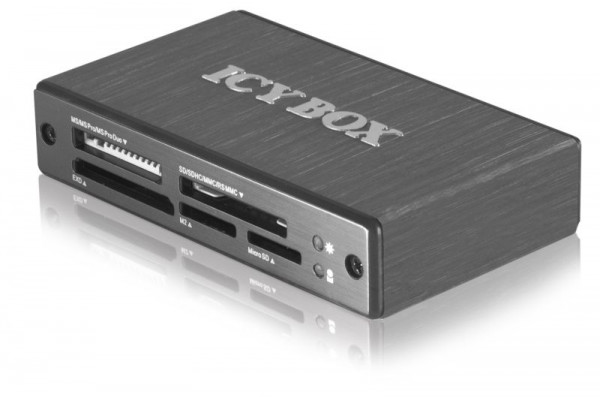 ICY Box Multi-Card Reader, extern, USB 3.0, IB-869a,