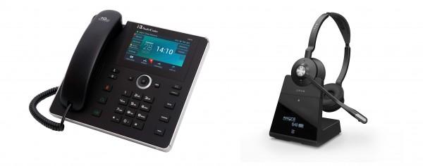 Audiocodes - Jabra Bundle, UC450HDEG & Engage 75 Stereo