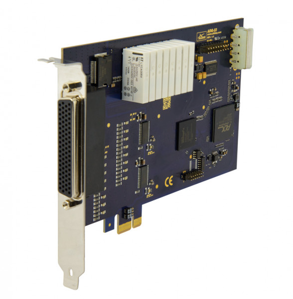 ALLDAQ ADQ-23-PCIe / PCI-Express-Digital-I/O-Karte, 24 isolierte Digital-Eingänge, 16 isolierte Digital-Ausgänge mit Leistungstreiber, 8 TTL-Digital-I