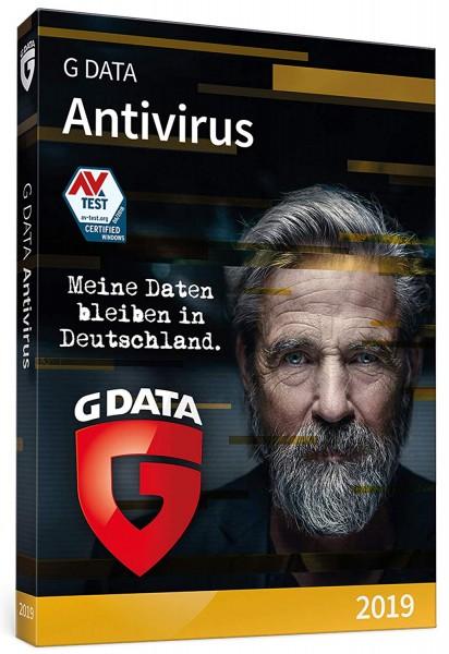 G DATA ANTIVIRUS 2019 1 Gerät 12 Monate Box