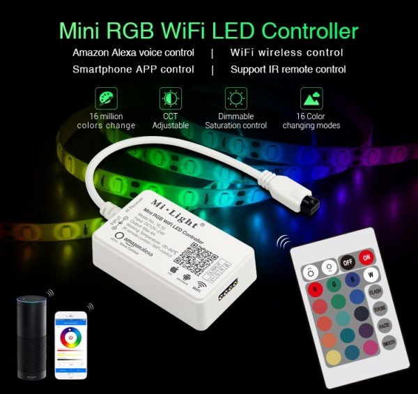 Synergy 21 LED Controller Mini RGB WiFi *MiLight* Alexa Serie