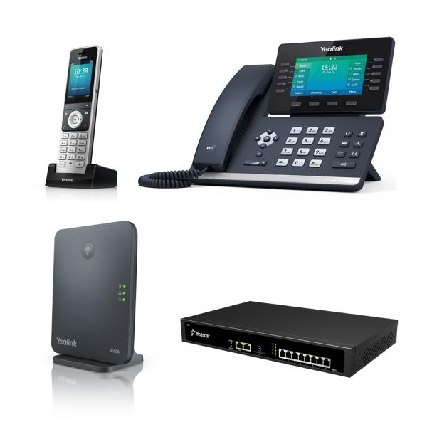 Yeastar + Yealink VoIP - SME & Office Bundle