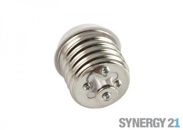 Synergy 21 LED Adapter für LED-Leuchtmittel E40->E27