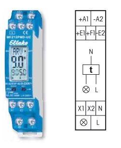 Eltako MFZ12PMD-UC Vollelektronisches Multifunktions-Zeitrelais