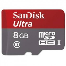 Flash SecureDigitalCard 8GB *SanDisk* microSDHC - UHS-I Class 10
