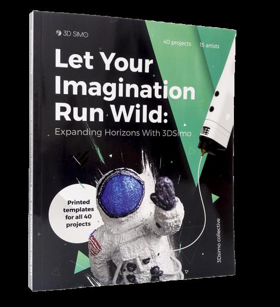 3Dsimo Book / Buch für 3Dsimo MultiPro und 3Dsimo Big Creative Box inkl. Mini ab 14 Jahren