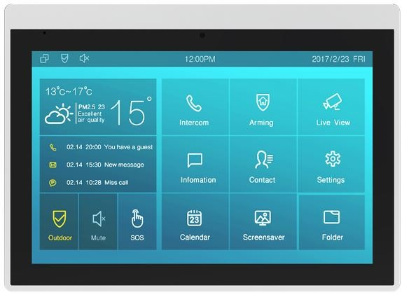 Akuvox TFE zbh. IT83A Indoor Touch Screen Android WIFI
