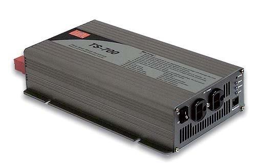 Mean Well Wechselrichter 12V 700W