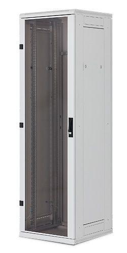 "Triton 19""Schrank 42HE, B600/T1000, Lichtgrau, bis 600Kg,"