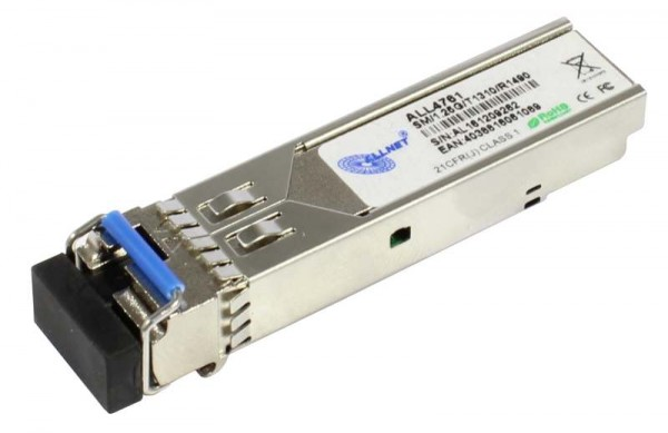 ALLNET Switch Modul ALL4761 SFP(Mini-GBIC), 1000Mbit, WDM(Bidi)/LC, Tx1310nm/Rx1490nm, 9u, 20Km,