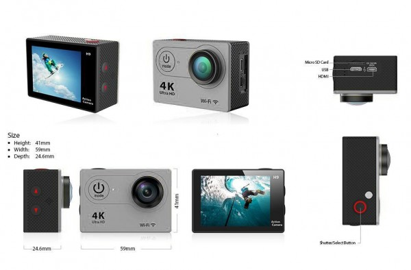 Synergy 21 Consumer Action Cam 4k