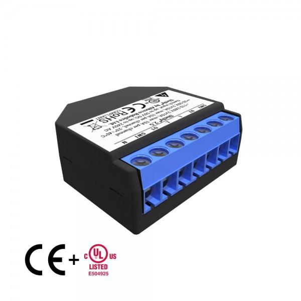 Shelly 2.5 WLAN (Wi-Fi) Schaltaktor doppelpack, Set mit 2 Stück