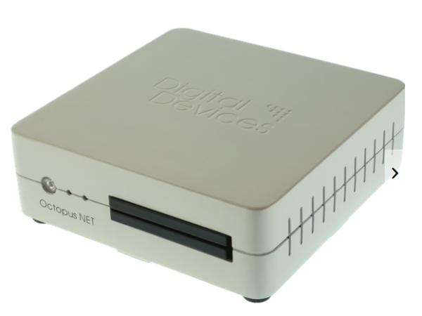 Digital Devices DD Octopus NET V2 Max M4 - Sat IP Netzwerktuner 291054