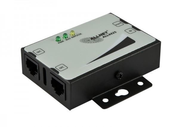 ALLNET MSR Sensor ALL4425 / Kontaktzähler / S0 im Gehäuse *black*
