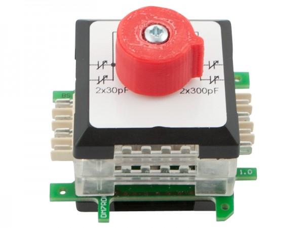 ALLNET Brick'R'knowledge Kondensator Drehkondensator 2x30pF