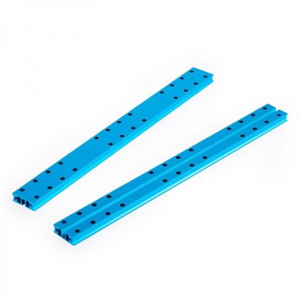 """Makeblock """"Slide Beam 0824-256 Blue (Pair)"""" / 2x Gleitschiene 0824-256 für MINT Roboter"""