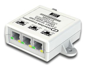 Cyberdata Networking - 3-Port USB Gigabit Port Mirroring Switch