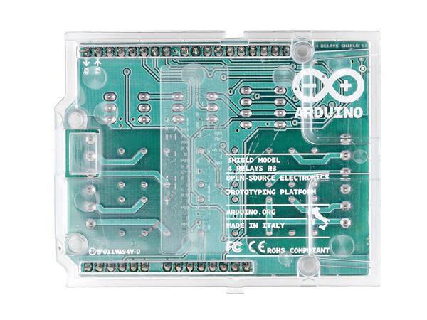 Arduino® 4 relays shield