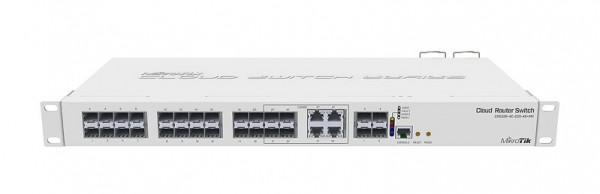 MikroTik Cloud Router Switch CRS328-4C-20S-4S+RM, 20x SFP, 4x SFP+, 4x Combo, Rackmount