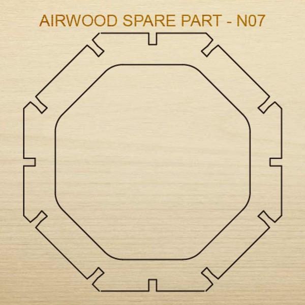 Airwood Holz Ersatzteil N07 / Spare Wood Part N07