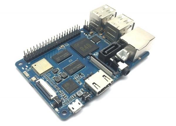Banana Pi Board BPi-M2 Berry Quadcore CPU / Raspberry Pi3 Größe