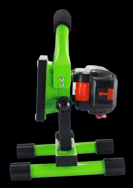 Synergy 21 LED AKKU Baustrahler 10W grün/kaltweiß slider