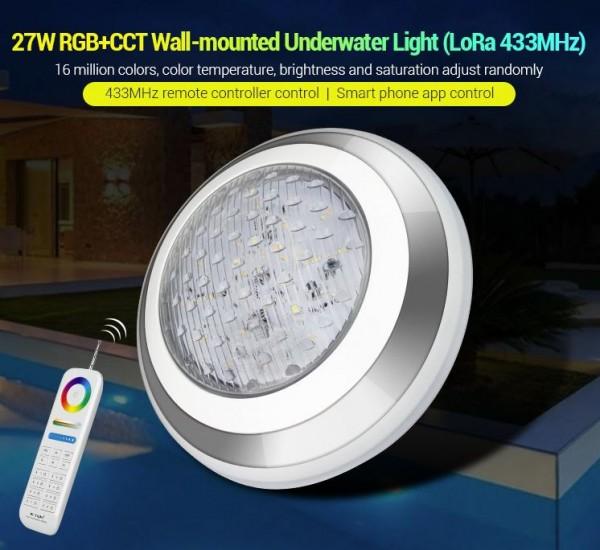 Synergy 21 LED LoRa (433MHZ) Poolleuchte 27W RGB+CCT *MiLight/Miboxer*